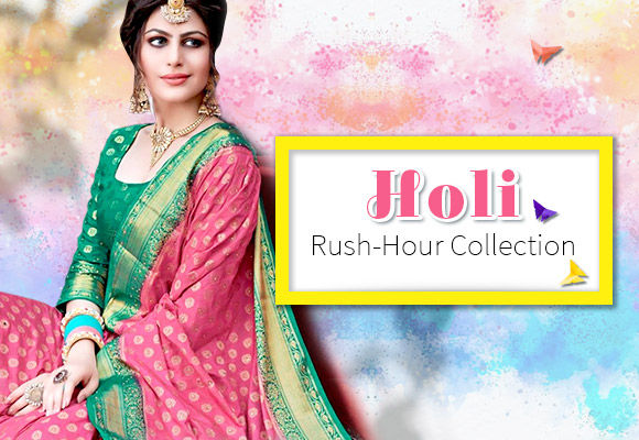3-day dispatch Holi Collection for last-minute shoppers. Shop!