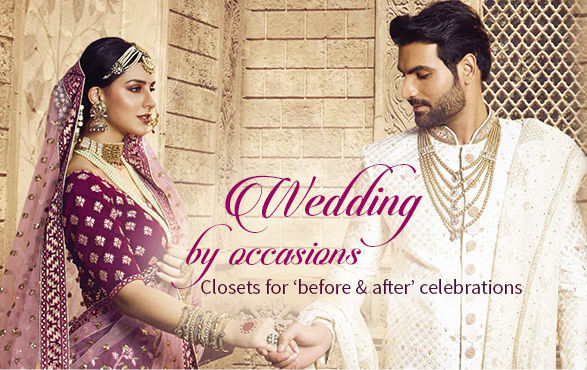 Indian Wedding Collection | Wedding Attires for Bride, Groom and Family