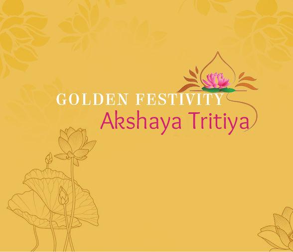 Silk Sarees, Zari work, and Golden Jewelry for Akshaya Tritiya. Shop!
