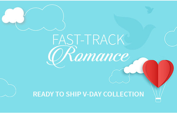 Ready To Ship Valentine's Day collection for Her & Him. Shop!