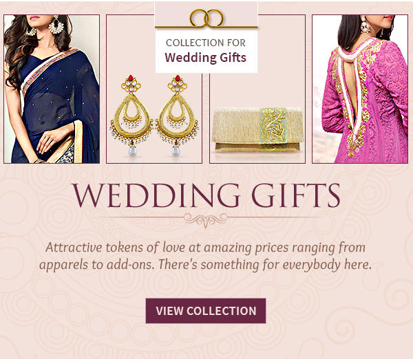 Affordable Sarees, Salwar Suits, Fusion wear, Accessories, Essentials & more. Shop!