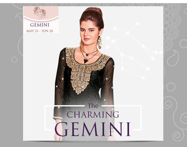 Gemini Closet: Green and Black A-line Salwar Suits and Straight Suits. Shop!