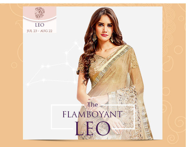 Leo Closet: Embroidered, Sequined, Metallic-colored Apparels. Shop!