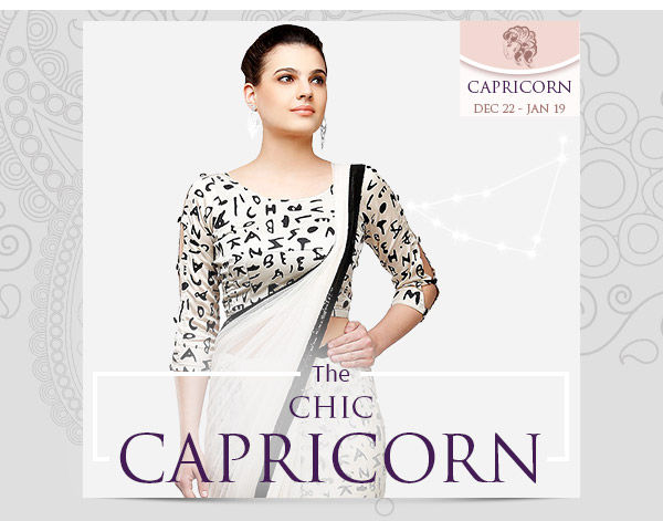 Capri closet: Monochrome beauties, unembellished Sarees and Straight Suits. Shop!