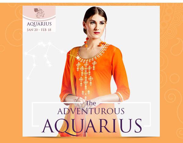 Aquarius Closet:  Front slits, indo western lehengas in bright, neon tones. Shop!