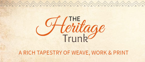 Up to 70% Off on Heritage array of Bhagalpuri Silk, Chanderi, Warli Print, Gota Work, Punjabi Suits & more. Shop!