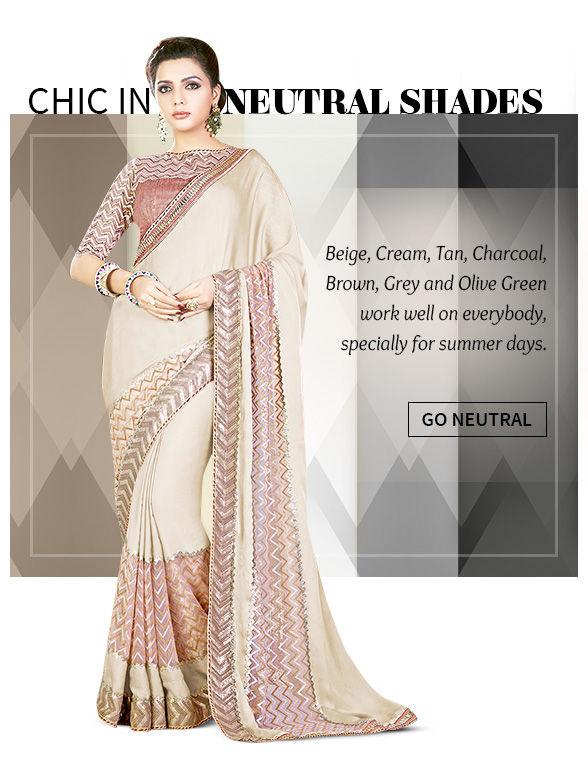 Explore these shades in Saree Salwar kameez, Lehengas. Shop!