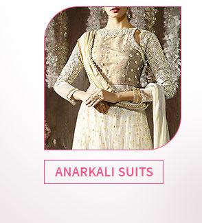 Paris' trends in Anarkalis, Pink ensembles, Color Block Attires & more. Shop!