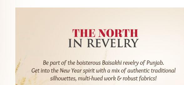 Patiala Suits, Banarasi ensembles, Pathani Suits & more for New Year in North. Enjoy!