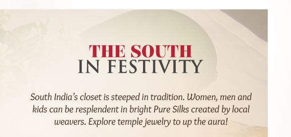 Bangalore Silk, Kanchipuram, Mysore Silk, Pavda Set & more for New Year in South. Enjoy!