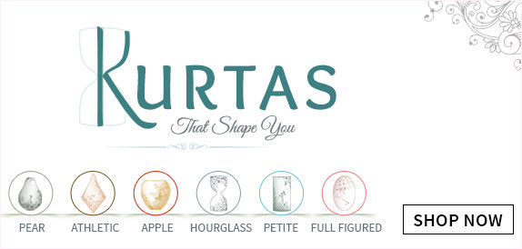 Select the kurta which suits your body type- Explore the range