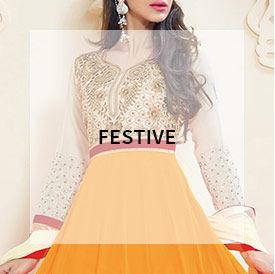 Shop Festive wear salwar suits