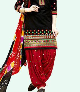 Shop Patiala style salwar suits
