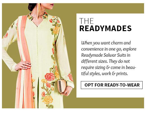 Shop readymade salwar suits