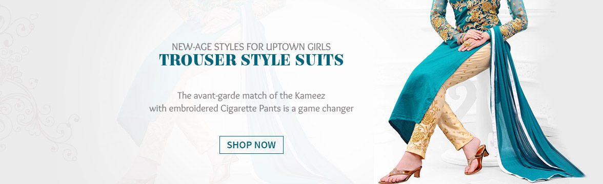 Trouser style Suits for the modern woman. Shop!