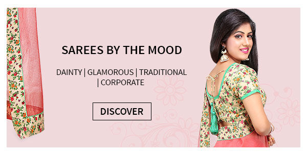 Shop saree by the looks and moods