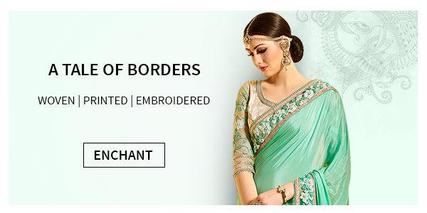 Explore saree borders