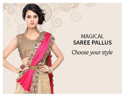 Explore the enchanting saree pallus