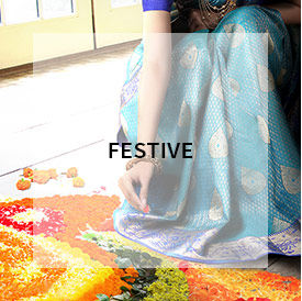 Festive wear sarees from India