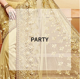 Party wear sarees for your wardrobe