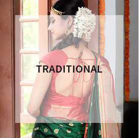 Traditional style sarees from India