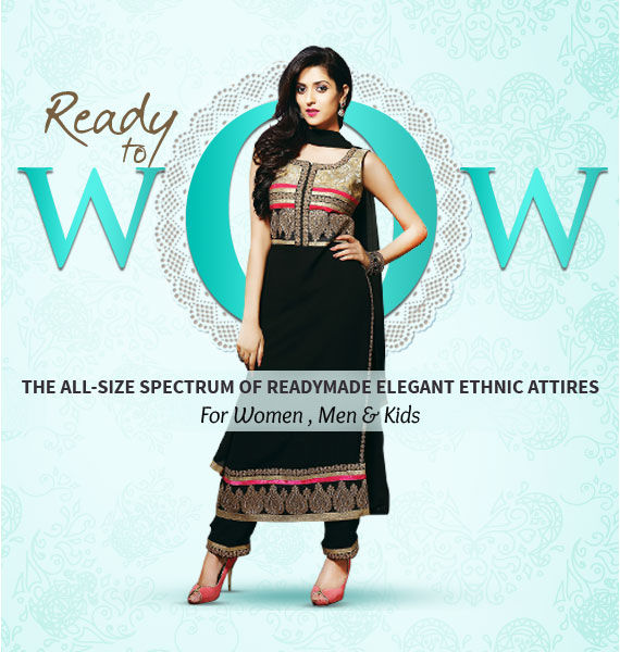 Fashion for the fast forward -Just pick your size and glam up in our collection of ready-made ensembles.