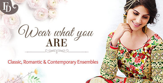 Shop Indian fashion as per your style personality.