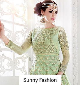 Orange, Green, Resham Work, Straight Cuts, Separates in our 30 Summer Trends- Course 1. Shop!