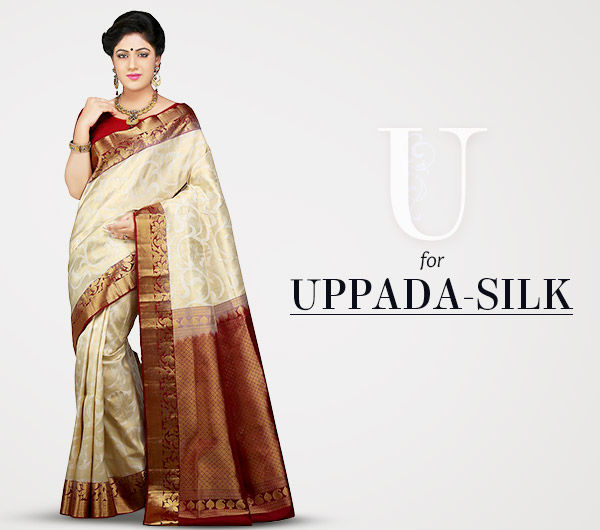 Handwoven Uppada Silk Sarees in vibrant colors. Shop!