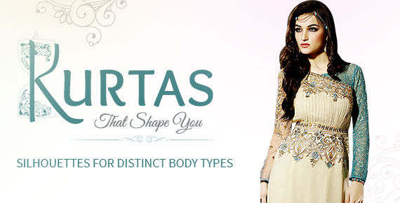Anarkalis, A-line Kurtas, Abaya style suits, Indowestern Kurtas, Pakistani Suits & more for different frames. Shop!