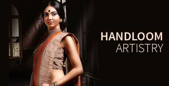 Handwoven fabrics from Indian artisans. Behold!
