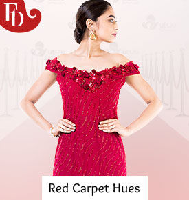 Red Carpet Hues of Black, White, Gold and Red. in trending styles. Shop!