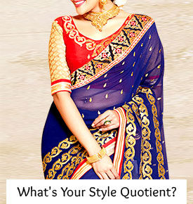 Choose your style quotient with Indian fashion trends.
