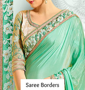 Indian Sarees with Exquisite Border Styles | Latest Fashion in Sari Borders
