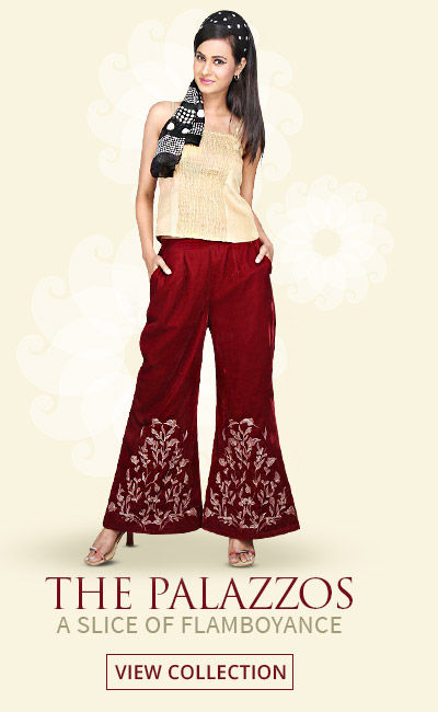 The Era of Fashion - Trend 70s Style in free flowing Palazzos. Shop!
