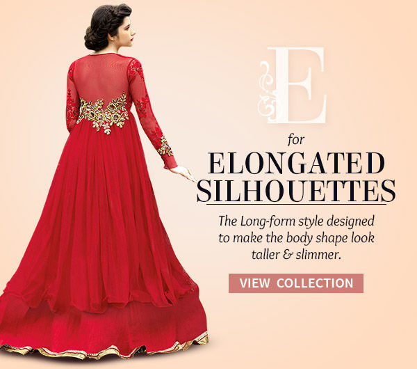 Abaya style & Floor length Salwar Kameez, Layered Lehengas, Long Kurtas & more. Shop!