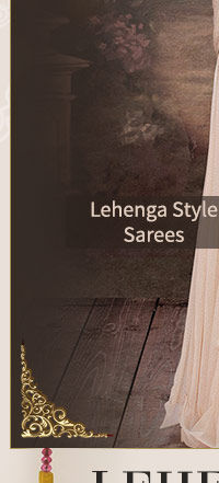 Festive Trend: Hassle-free and stylish Lehenga style Sarees with Add-ons. Shop!