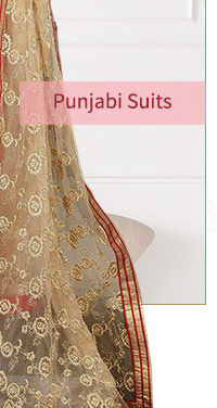 Festive Trend: Punjabi Suits with colorful Add-ons. Shop!