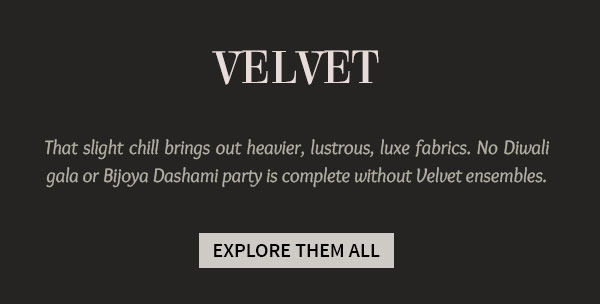 Festive Trend: Opulent Ensembles & Add-ons in Velvet. Shop!