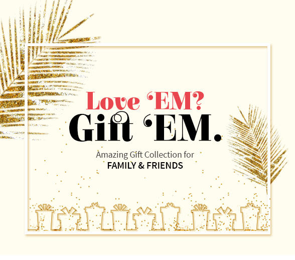 Amazing gift collection for family & friends. Explore more!