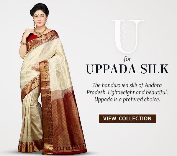 Handwoven Uppada Silk Sarees in vibrant colors. Shop!
