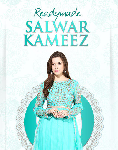 Readymade Salwar Kameez in pretty fabrics & silhouettes. Shop now!