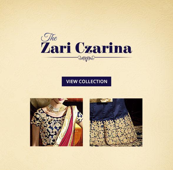 Royal Closet:Art Silk Sarees, Straight Suits, Zari Lehengas & Add-ons. Shop!