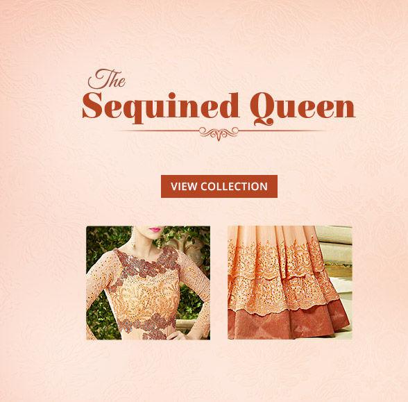 Royal Closet:Georgette Sarees, Anarkalis, Long Kurtas, Net Lehengas & Add-ons. Shop!
