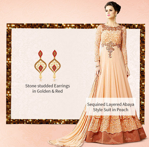 Royal Closet:Georgette Sarees, Anarkalis, Long Kurtas, Net Lehengas & Add-ons. Shop!