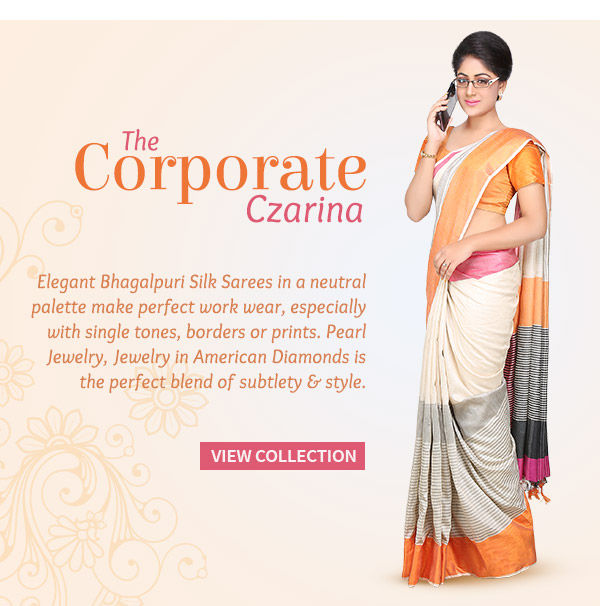 Bhagalpuri Silk Sarees, Drapes with Borders, Prints & Single Tones. Shop!