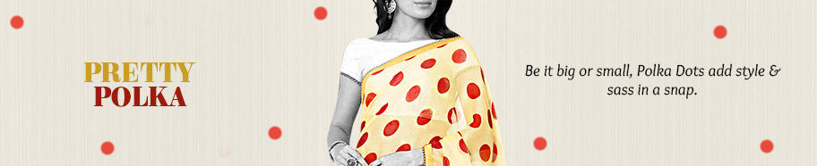 Stunning array of silhouettes in Polka Dot Prints. Buy Now!