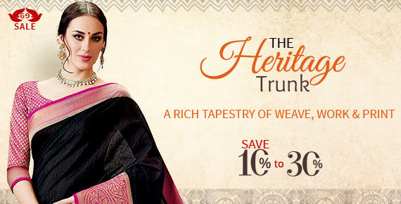 Heritage array of Bhagalpuri Silk, Chanderi, Warli Print, Gota Work, Punjabi Suits & more. Shop!